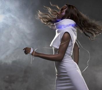 exposition dédiée aux textiles intelligents