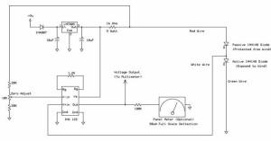 Schéma Anémomètre Hot wire