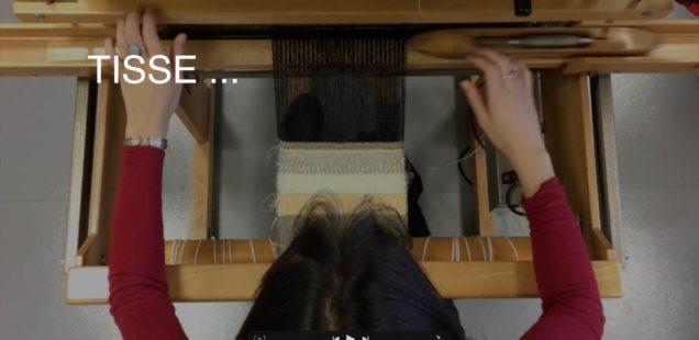Le sablier tisserant
